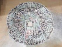 Moneda Nepali imágenes de archivo libres de regalías