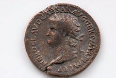 Moneda romana Fotografía de archivo libre de regalías