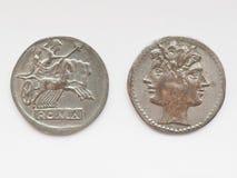 Moneda romana Imagen de archivo