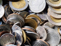 Moneda tailandesa Imagen de archivo