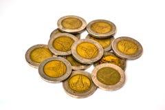 Moneda Tailandia de diez baños Imagen de archivo libre de regalías