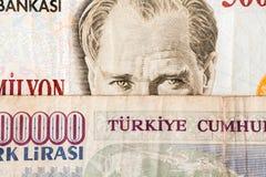 Moneda turca Imágenes de archivo libres de regalías
