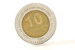 Moneda uruguaya 2 Fotografía de archivo libre de regalías