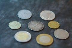 Moneda vieja del ` s de Unión Soviética foto de archivo libre de regalías