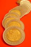 Monedas Imágenes de archivo libres de regalías