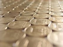 Monedas 12 Fotografía de archivo libre de regalías
