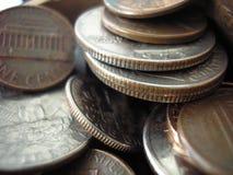 Monedas Fotografía de archivo