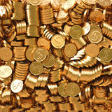 Monedas ilustración del vector