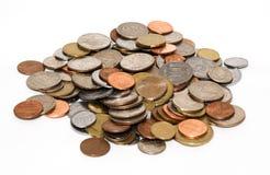 Monedas foto de archivo