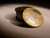 Monedas [4] Imágenes de archivo libres de regalías