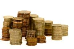 Monedas Foto de archivo libre de regalías