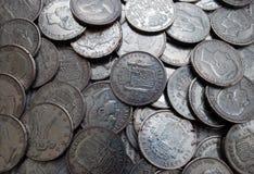 Monedas antiguas Imagenes de archivo