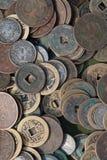 Monedas antiguas Fotografía de archivo