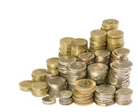 Monedas británicas Fotografía de archivo libre de regalías