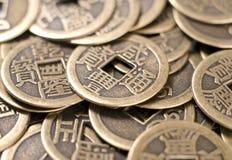 Monedas chinas Foto de archivo libre de regalías