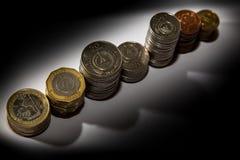 Monedas 250, 100, 50, 20, 10, 5, 1 de Cabo Verde foto de archivo