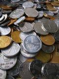 Monedas de China fotografía de archivo