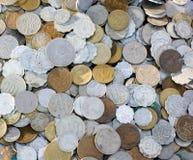 Monedas de la vendimia de Israe imágenes de archivo libres de regalías