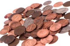 Monedas de los E.E.U.U. Fotografía de archivo libre de regalías