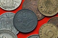 Monedas de los Países Bajos imágenes de archivo libres de regalías