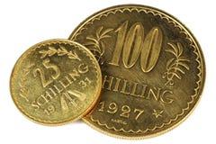 Monedas de oro austríacas Fotografía de archivo libre de regalías