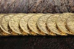 Monedas de oro suizas 05 Fotos de archivo