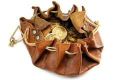 Monedas de oro de Vreneli imagenes de archivo