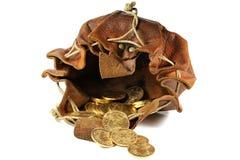 Monedas de oro de Vreneli fotos de archivo libres de regalías