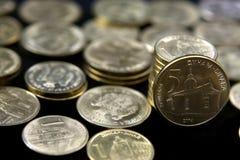 Monedas de Serbia Imagen de archivo libre de regalías