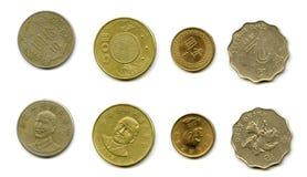 Monedas de Taiwán Imagen de archivo libre de regalías