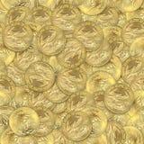 Monedas del águila del oro Fotografía de archivo