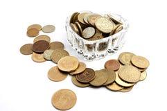 Monedas del amor Foto de archivo libre de regalías