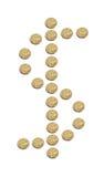 Monedas del dólar australiano Fotos de archivo