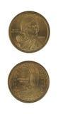 Monedas del dólar de Sacajawea Fotografía de archivo libre de regalías