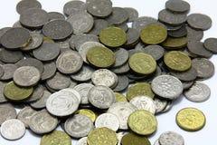 Monedas del dólar de Singapur Imagen de archivo