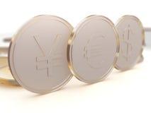 Monedas del dinero Fotografía de archivo libre de regalías