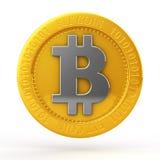Monedas del pedazo Foto de archivo libre de regalías