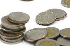 Monedas del THB Fotografía de archivo