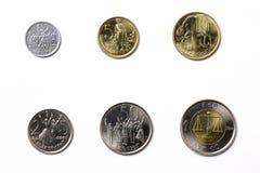 Monedas etíopes fotos de archivo