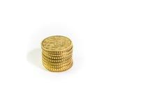 Monedas euro Fotografía de archivo