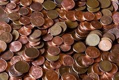 Monedas euro imágenes de archivo libres de regalías