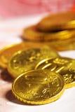 Monedas euro del centavo Fotografía de archivo libre de regalías