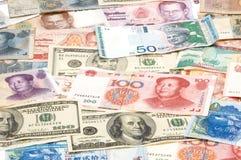 Monedas extranjeras Imagenes de archivo
