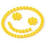 Monedas felices Imagenes de archivo