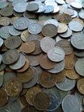 Monedas flojas Fotografía de archivo libre de regalías