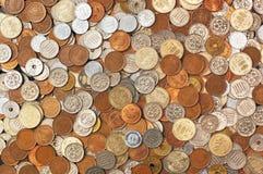 Monedas japonesas del dinero Foto de archivo libre de regalías