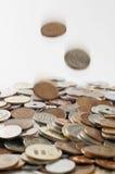 Monedas japonesas del dinero Fotos de archivo