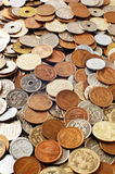 Monedas japonesas del dinero Imagenes de archivo