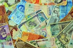 Monedas latinoamericanas Imagen de archivo libre de regalías
