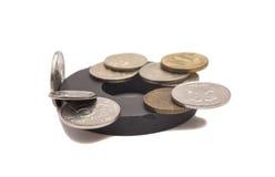 Monedas magnéticas